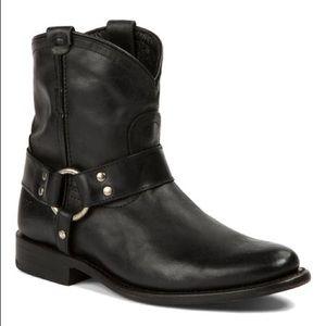 Frye Wyatt Black Ankle Boot Size 9